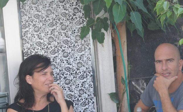 דנה מודן ואסי כהן  (צילום: ברק פכטר ,mako)