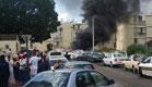 הרכב עולה באש - רגעים אחרי הפיצוץ
