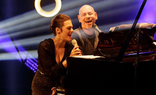 קרן פלס, רמי קלינשטיין, פסטיבל הפסנתר (צילום: גיא פריבס)
