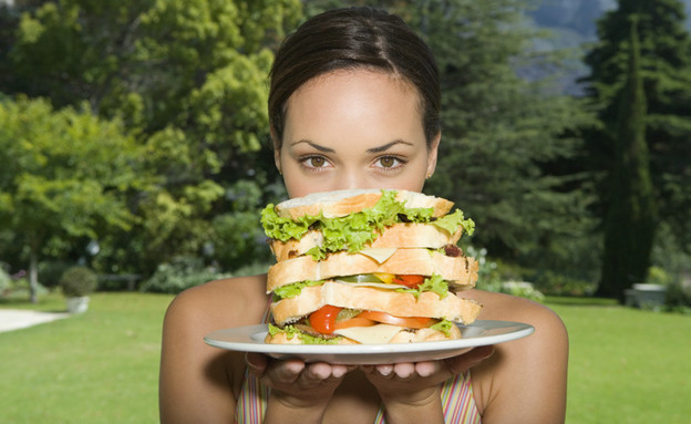 סנדוויץ' (צילום: jupiter images ,jupiter images)