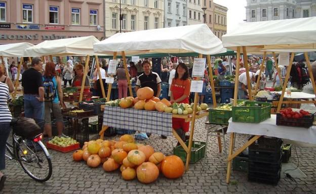 שוק בפראג (צילום: http://prague4you.co.il ,mako)