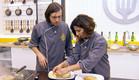 התלמידים מכינים קינוח (תמונת AVI: מתוך הצילו! אני לא יודע לבשל ,שידורי קשת)