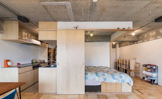 דירה בטוקיו (צילום: Katsumi Hirabayashi)
