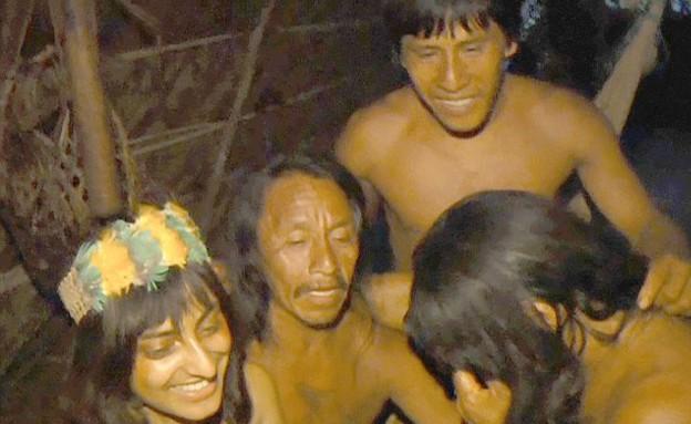 התחתנה בשבט (צילום: MEDIA DRUM WORLD)