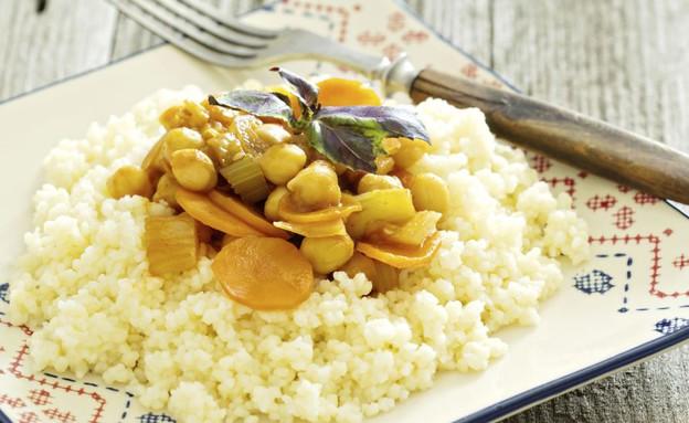 קוסקוס עם ירקות (צילום: אימג'בנק / Thinkstock ,Thinkstock)