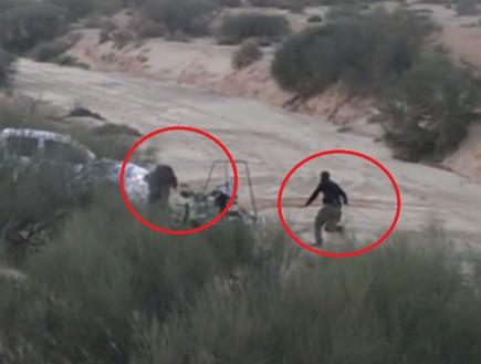 מבצע משטרתי ללכידת גנבי טרקטורונים (צילום: חטיבת דובר המשטרה)