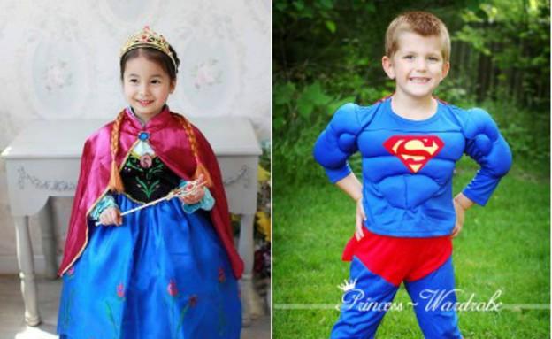 הנסיכה אנה וסופרמן (צילום: ebay)