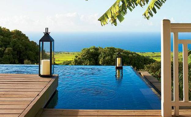 מלון על החוף (צילום: facebook.com Kittitian-Hill)