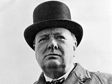 ווינסטון צ'רצ'יל, ראש ממשלת בריטניה - 1940-45, 195 (צילום: וויקיפדיה)