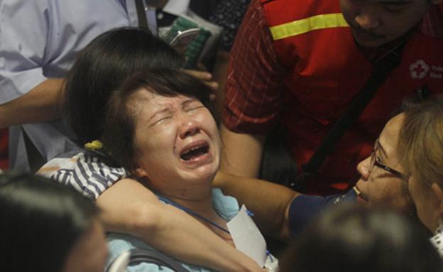 ההתרסקות: יותר מ-40 גופות נמצאו (צילום: AP)