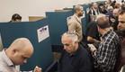 תור להצבעה בפריימריז בליכוד בתל אביב. 31 בדצמבר 2014 (צילום: ap)