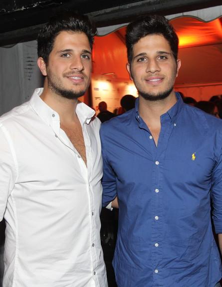 התאומים מהמירוץ למיליון (צילום: אביב חופי ,mako)