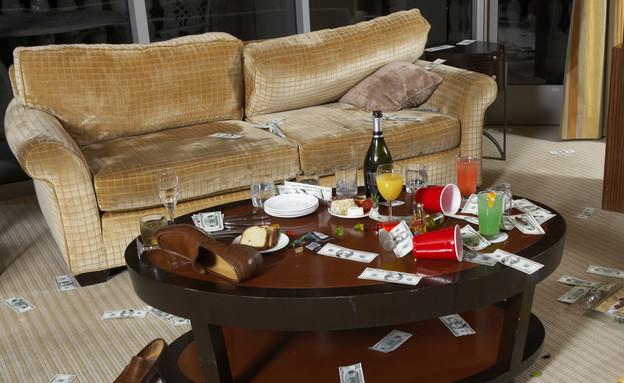 חדר הרוס במלון (צילום: thinkstock / אימג'בנק)