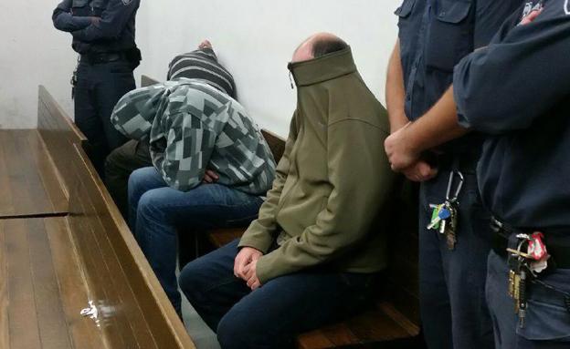 החשוד בבית המשפט (צילום: חדשות 2)