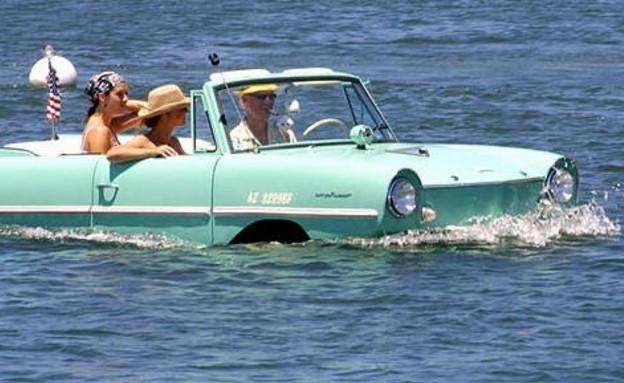 מכוניות מוזרות (צילום: http://www.amphicar.com/)