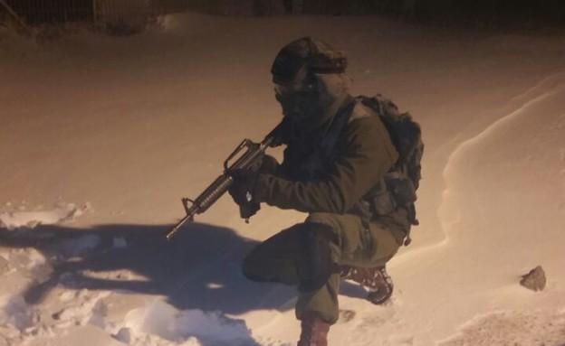 """חיילים בחרמון (צילום: דובר צה""""ל ,דובר צה""""ל)"""