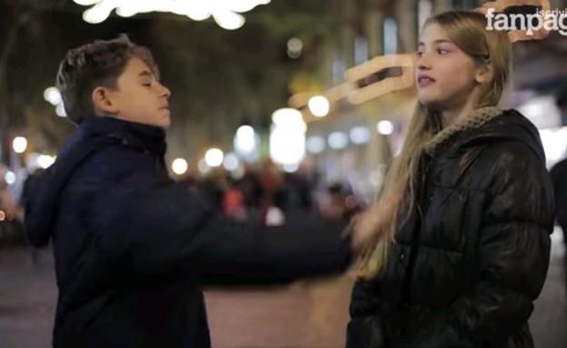 ניסוי חברתי מאיטליה: תרביץ לה (צילום: יוטיוב)