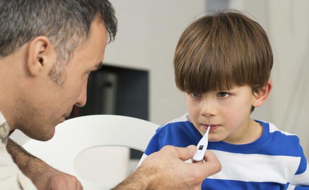 ילד חולה (צילום: אימג'בנק / Thinkstock)