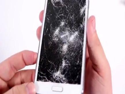 המסך נשבר? תיקון יעלה מאות שקלים (צילום: חדשות 2)