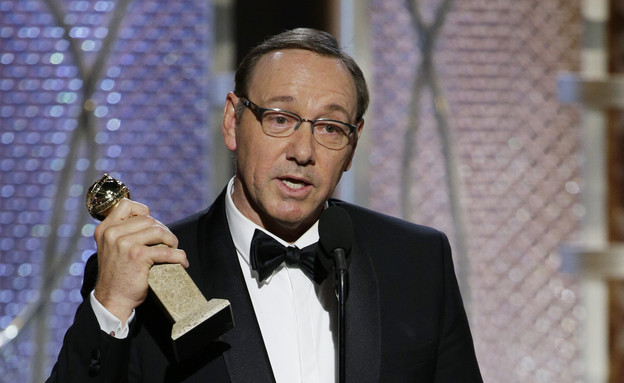קווין ספייסי בגלובוס הזהב (צילום: אימג'בנק/GettyImages ,getty images)