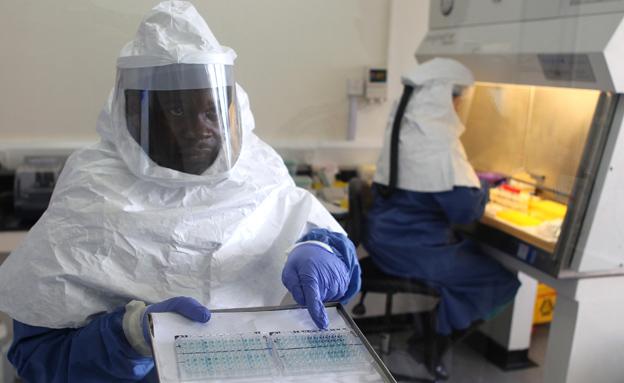 נבלמת תפוצת האבולה באפריקה (צילום: AP)