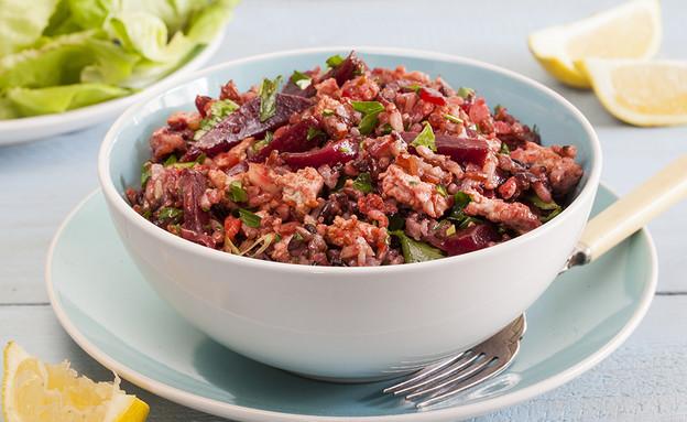 תבשיל אורז עם סלק ועוף (צילום: אסף אמברם ,אוכל טוב)