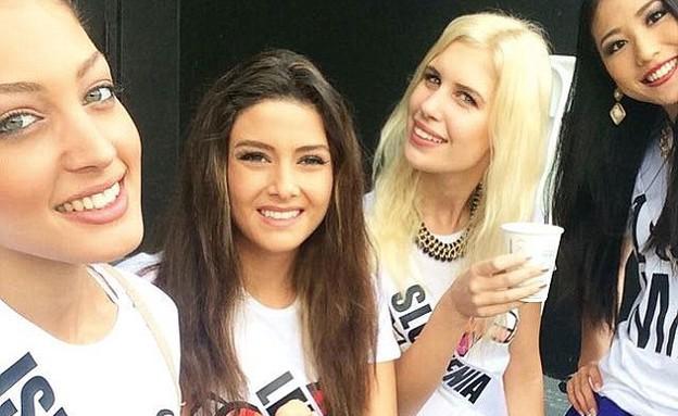 דורון מטלון עם מיס לבנון (צילום: instagram ,instagram)