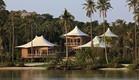 מלונות בתאילנד, מלון מבודד מבנייה קלה (צילום: soneva.com)