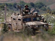 ג'יפ, חייל, צבא, גבול, לבנון, אילוסטרציה (צילום: AP)