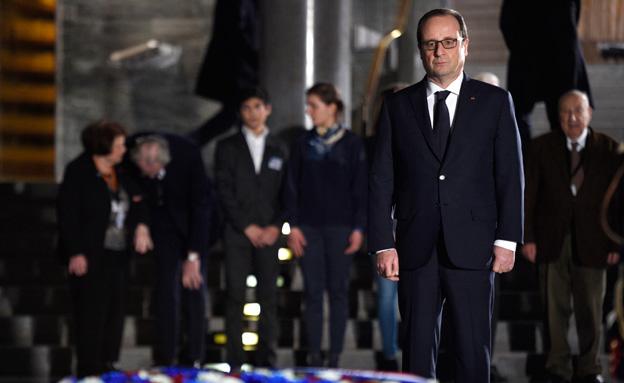 נשיא צרפת, היום (צילום: רויטרס)