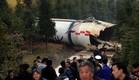 התרסקות בכפר סיני (צילום: china news service)
