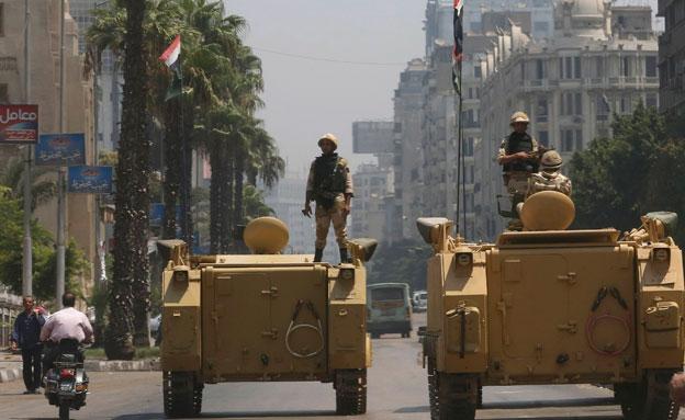 מצרים מתכוננת לתגובה. ארכיון (צילום: רויטרס)