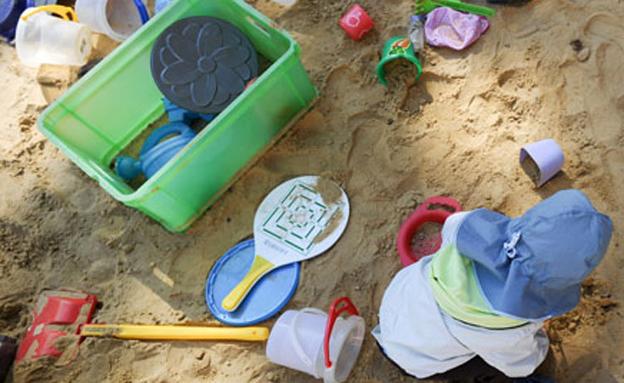 גן ילדים, ילדים, חול (צילום: חדשות 2)