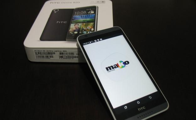 Desire 820, סמארטפון מתומן-ליבות של HTC (צילום: אלעד בלובשטיין)