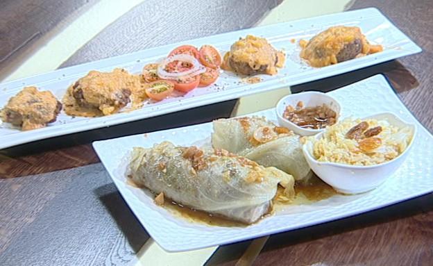 תבשיל קציצות בשר (צילום: קשת ,מאסטר שף VIP)