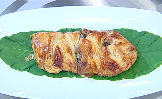 מאפה בשר עם שמנת (צילום: קשת ,מאסטר שף VIP)