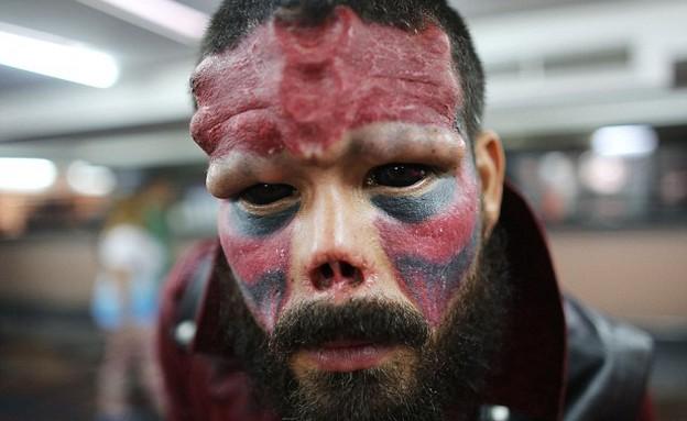 פנים של רשע (צילום: AP)