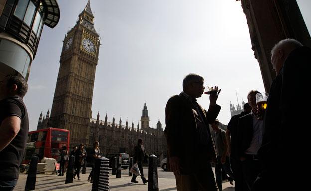 583 תקיפות בלונדון (צילום: AP)