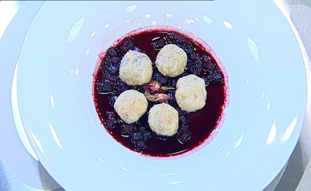 קובה סלק מתוק (צילום: קשת ,מאסטר שף VIP)