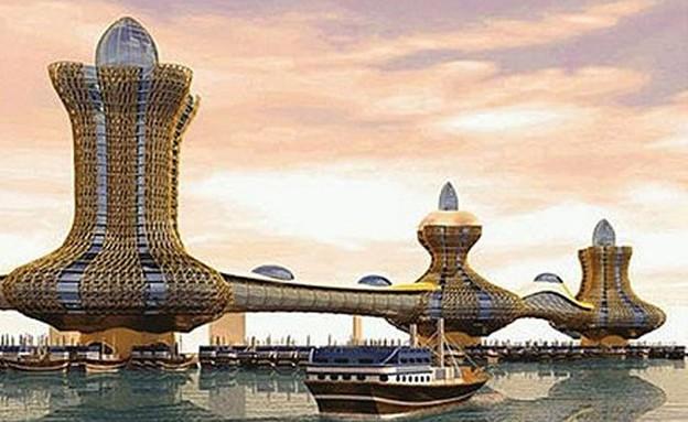 מגדלי אלאדין בדובאי (צילום: Dubai Municipality)