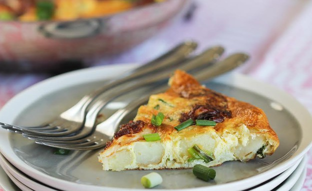 """פריטטה חלומי ותפוחי אדמה (צילום: עידית נרקיס כ""""ץ ,אוכל טוב)"""