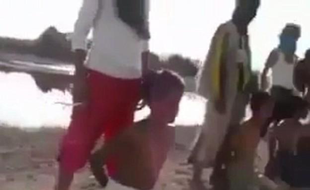 ילדים עושים דאעש (צילום: יוטיוב )