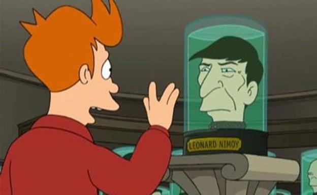 """לאונרד נימוי ב""""פיוצ'רמה"""" (צילום: יוטיוב  ,יוטיוב)"""