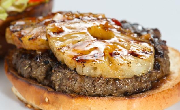 אגאדיר המבורגר עם אננס (צילום: יחסי ציבור ,יחסי ציבור)