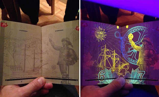 דרכון קנדי זוהר (צילום: chachichachichicken)