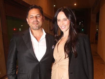 מרינה קבישר ובעלה (צילום: צ'ינו פפראצי ,mako)