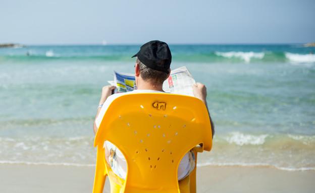 עליה מצרפת - חוף ים. אילוסטרציה, למצולם אין קשר לכתבה (צילום: State of Israel flickr ,mako)