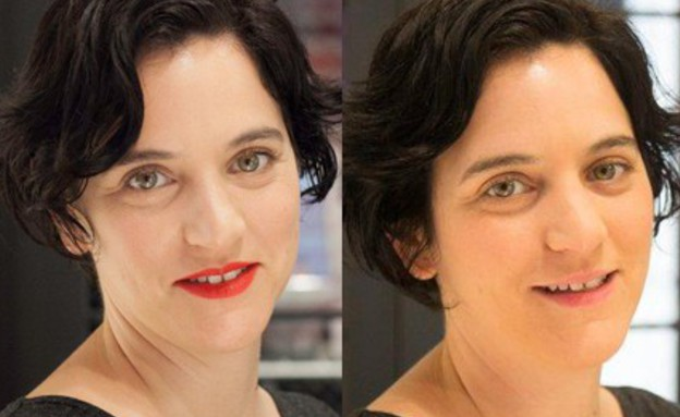 נועה לפני ואחרי (צילום: לירון כהן אביב ,mako)