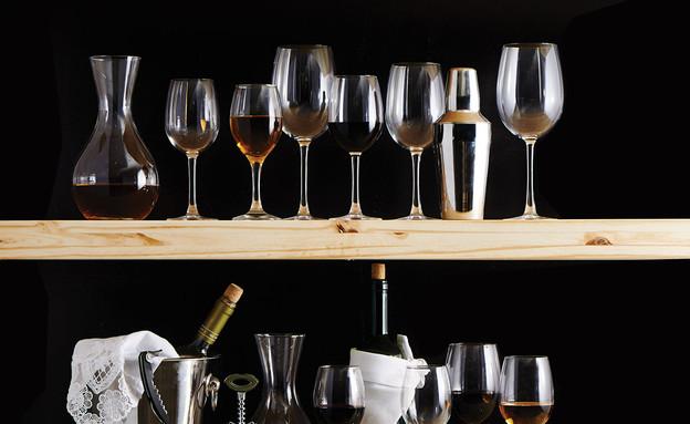 כוסות יין (צילום: שחר תמיר)