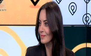 ראיון עם מאיה בוסקילה (תמונת AVI: מתוך הבילויים ,ערוץ 24)